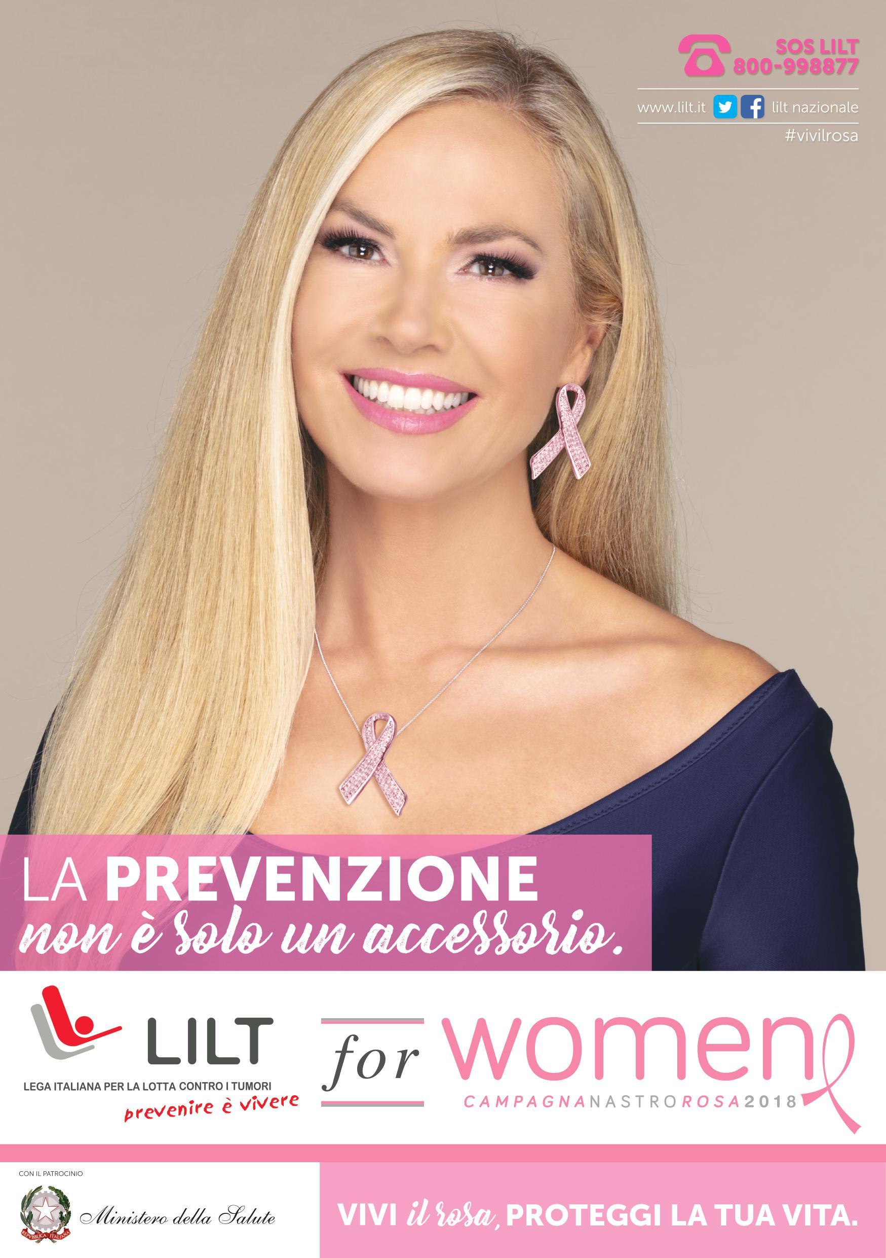 LILT for Women – Campagna Nastro Rosa 2018