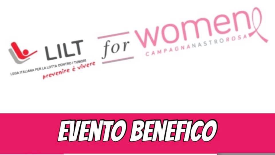 Evento benefico LILT for Women a favore della LILT di Savona